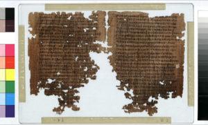 Papiro Copto